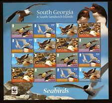SOUTH GEORGIA QEII WWF 4x4 S/Sheet 16 var 2012 SUPERB MNH