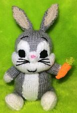 Knitting Pattern-Bugs Bunny ispirato Choc Arancione Copertura/18cms LOONEY TUNES giocattolo