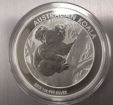2013 AUSTRALIAN SILVER KOALA 1 OZ. .999 IN HOLDER.