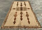Authentic Hand Knotted Afghan Taimani Balouch Wool Area Rug 5 x 3 Ft (511 HMN)