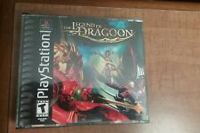 LEGEND OF DRAGOON SONY PLAYSTATION/PS1 COMPLETE BLACK LABEL RPG NICE SHAPE