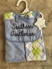 NWT Nursery Rhyme Southern gentleman bib and burp cloth set