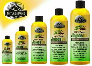 Jojoba Oil Organic For Hair Body Skin face oil Pure Natural Cold Pressed  in UK