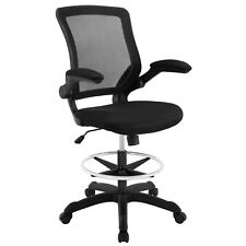Veer Drafting Chair - Black