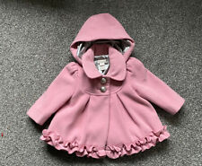 Monsoon Baby Girl Pink Coat 3-6 Months