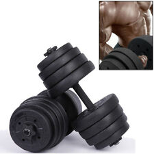 Weights Weight Strength Lifting Dumbbell Gym Set 30kg