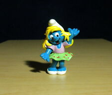 Smurfs 20445 Disco Smurfette Dancer Smurf Rare Vintage Figure Toy PVC Figurine