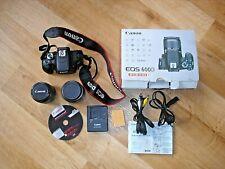 Orig. CANON EOS 600D EF-S 18-55 II KIT Digitalkamera NEUw. Schwarz SLR Objektive