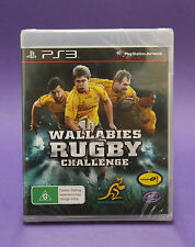 WALLABIES RUGBY CHALLENGE PS3 😎AUSSIE SELLER😎 NEW & FACTORY SEALED~FAST POST !