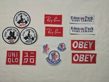 ecusson patch JOTT UNIQLO EDEN PARK hurley ray-ban obey