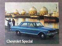 c1973 Chevrolet Special original Argentinian sales brochure