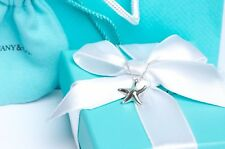 "Tiffany & Co. Silver Elsa Peretti Starfish Pendant 16"" Necklace w/ Packaging"