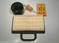 BRIGGS & STRATTON ENGINE SERVICE KIT- GENUINE 499486S AIR,OIL,FUEL FILTER, PLUGS
