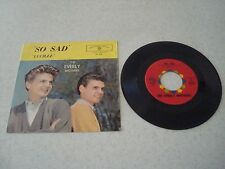 THE EVERLY BROTHERS~So Sad/Lucille~45~RPM~&~PICTURE~SLEEVE~WARNER~BROTHERS