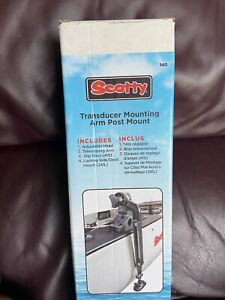 New!  # 140 Scotty TRANSDUCER MOUNTING ARM POST Mount