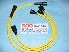 Fiat 500 L/r 126 cavi Candela Bobina Super Silicone Gialli Spinterogeno Motore