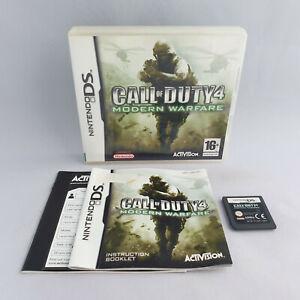 Nintendo DS NDS - Call of Duty 4 Modern Warfare