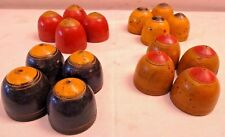 VINTAGE CHOPAT GAME ANCIENT INDIAN SET SOGTHI HAND CRAFTED WOODEN PAINTED RARE