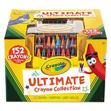 Crayola Ultimate Crayon Case Sharpener Caddy 152 Colors 520030