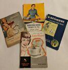 Lot of 4 Vintage Sears Hamilton Beach Mixer Appliance Manuals Recipes 1940s photo