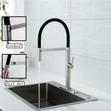 NEW OLEAH STAINLESS STEEL PULL DOWN DUAL FUNCTION KITCHEN FAUCET-SILCONE HOSE
