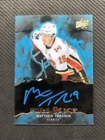 2019-20 UPPER DECK ICE MATTHEW TKACHUK FIRE & ICE AUTOGRAPH AUTO #FI-MT