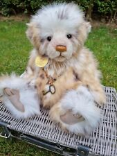 """Charlie Bear Helen Plumo 16"""" 2013 Comes With Tags And Bag."""