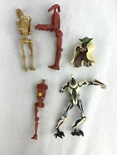Vintage Star Wars the black Series battle droids action figure lot of 5  yoda