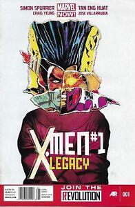 X-Men Legacy Comic 1 Cover A First Print 2013 Simon Spurrier Craig Yeung Marvel