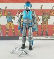 Original 1985 GI JOE Cobra LAMPREY V1 ARAH complete UNBROKEN figure Moray Pilot