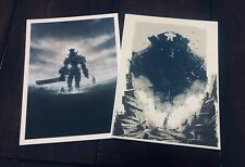 Shadow of The Colossus Special Limited Edition Art Prints (NO GAME!) PS4