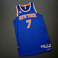 "100% Authentic Carmelo Anthony Knicks Game Issued Jersey Size L+2"" Mens"