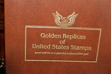 1981-83 FDI Stamps with Proof replicas stamps a gleaming surface of 22 kt gold