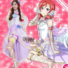 Stylish Love Live Nishikino Maki Dress Cosplay Kostüm Kleid Halloween Frauen
