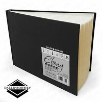 Daler Rowney - Ebony Artist's Hardback Sketch Book - 150gsm - A5 Landscape