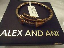 Alex and Ani EROS LOVESTRUCK ARROW WRAP Rafaelian Gold New W/Tag Card & Box