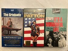 A Lot Of Three (3) VHS Vintage Classics Movies: NEW UNOPENED