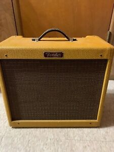 Fender Blues Junior Amplifier (Lacquered Cabinet, Speaker, and Reverb Tank only)