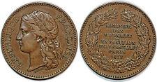 Medaille Administration des Monnaies-Exposition Universelle Paris 1878