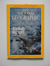 National Geographic Magazine January 1990 with Supplement