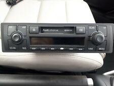 Audi TT Mk1 Chorus Radio Tape Cassette Player and booklet Code
