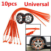 10pcs Car Truck SUV Snow Wheel Tire Anti-skid Antiskid Chains Car-Styling Decor