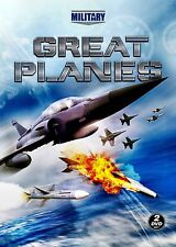 NEW 2DVD -  GREAT PLANES - MILITARY CHANNEL - PAUL MAX MOGA - 7+hours -