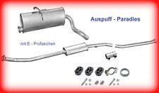 Abgasanlage Auspuff Peugeot Partner 1.1, 1.4 & 1.6 Typ 5F & 5  ab Bj. 2000 + Kit