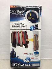 Space Bag Suit Size Vacuum-seal Hanging Bag Double Zipper