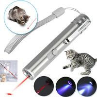 Interaktive Spring Bar lustige Katze LED-Laserpointer Haustierkatzenspielzeugs H