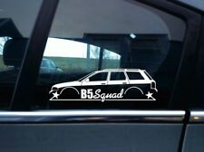 B5 Squad sticker - for Audi A4 / S4  B5 Avant estate wagon