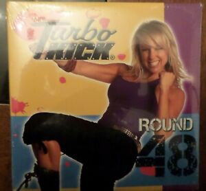 Turbo Kick Round 48 DVD CD Beachbody Powder Blue Chalene Johnson Kickboxing