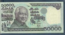 Indonesia 50000 Rupiah, 1995/1998, P 136d, AU