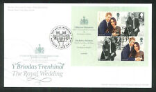2018 FDC - Royal Wedding  The Royal Wedding  Windsor Round Postmark  post free